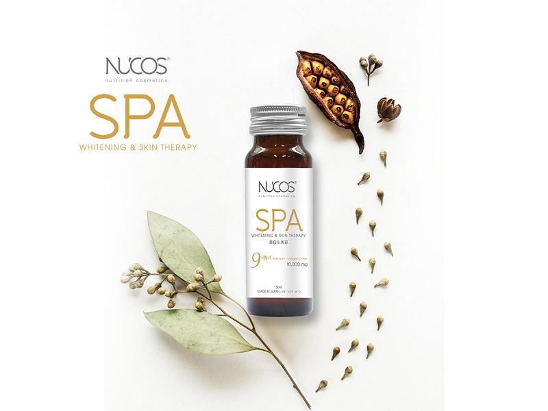 Chiết xuất thành phần Collagen Nucos Spa hoàn toàn từ tự nhiên