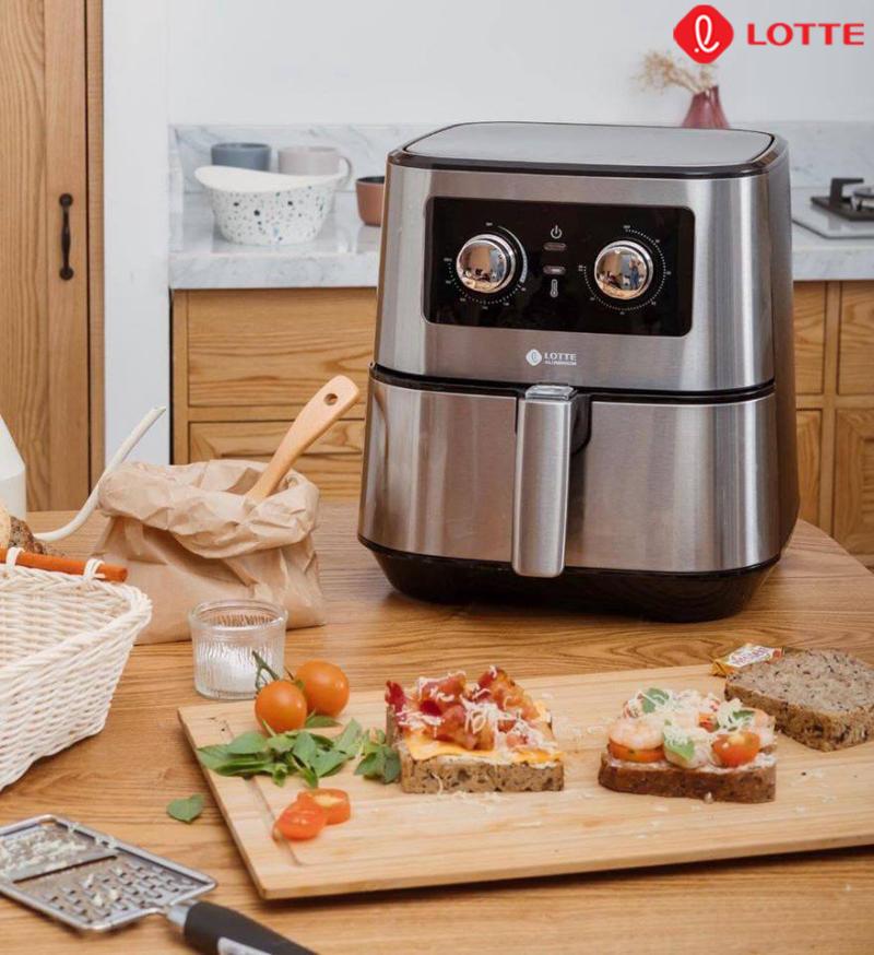 Công nghệ Airfryer sẽ giúp cho món ăn chín mềm bên trong và giòn ở bên ngoài