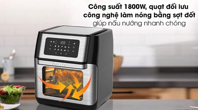 Công nghệ Rapid Air có khả năng đốt nóng hiệu quả