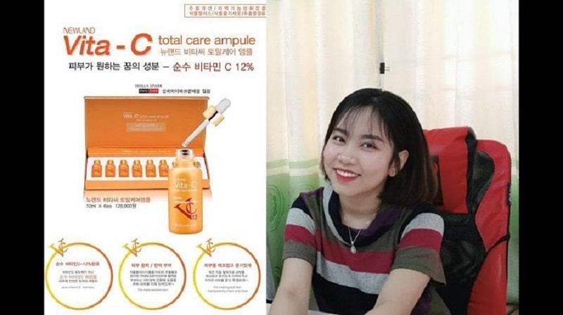 Đánh giá chung về serum Vita C Total Care Ampoule (Vitamin C tươi Hàn Quốc)