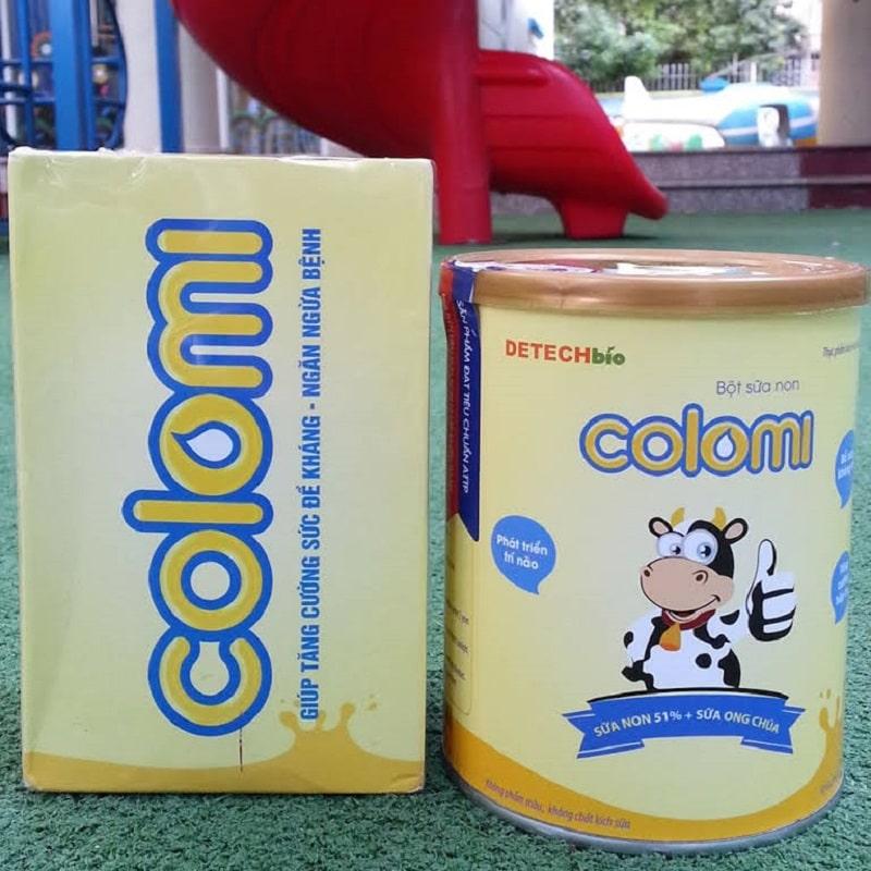 Đánh giá chung về sữa non Colomi dành cho bé