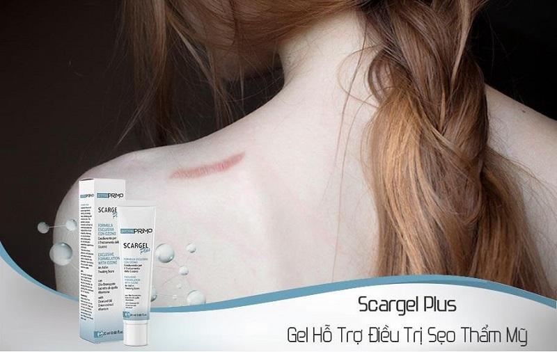 Dottorprimo Scargel Plus giúp xóa mờ các vết sẹo một cách hiệu quả