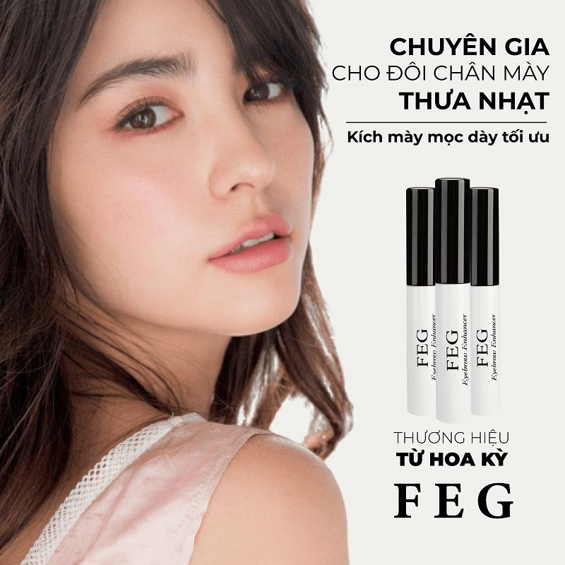 Dưỡng mày FEG Eyebrow có thực sự tốt?