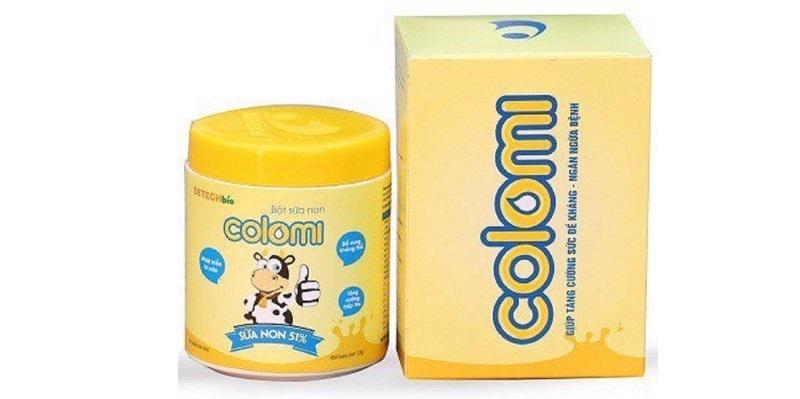 Giá bán sữa non Colomi trên thị trường bao nhiêu hiện nay?