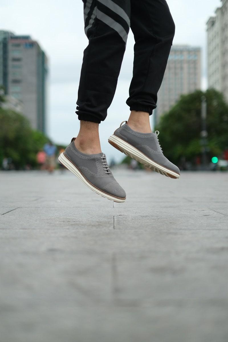 Giày Cafe SHOEX thiết kế siêu nhẹ sử dụng không lo đau chân, đau khớp