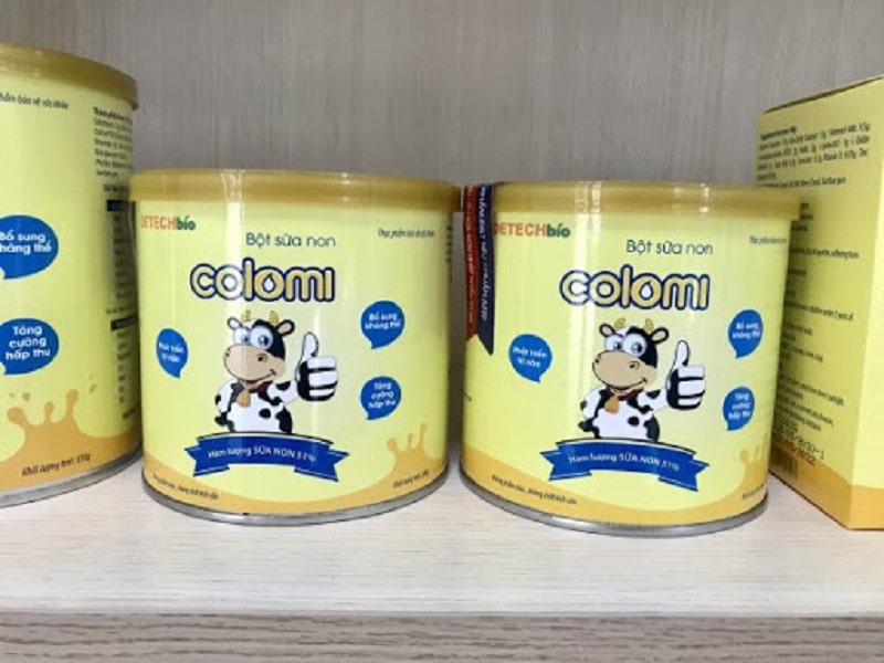 Hướng dẫn cách sử dụng sữa non Colomi cho bé cụ thể nhất