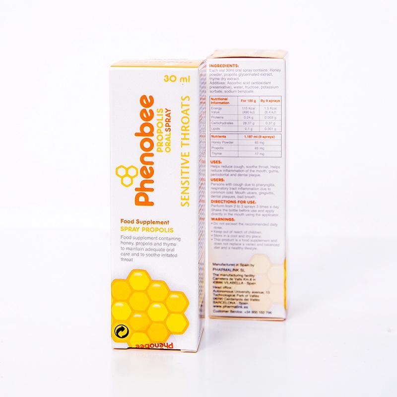 Keo ong xịt họng Phenobee – Sản phẩm có nguồn gốc từ công ty dược số 1 Tây Ban Nha