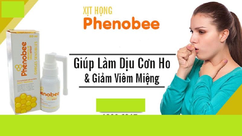 Keo xịt họng Phenobee nhận được nhiều đánh giá tích cực từ người tiêu dùng