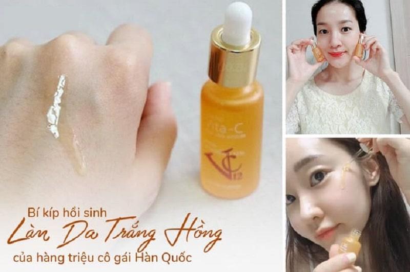 Khách hàng nói gì khi sử dụng serum Vita C Total Care Ampoule (Vitamin C tươi Hàn Quốc)?