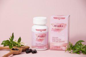 Maxi White là viên uống trắng da có tác dụng tuyệt vời với làn da chỉ sau 3 tháng sử dụng