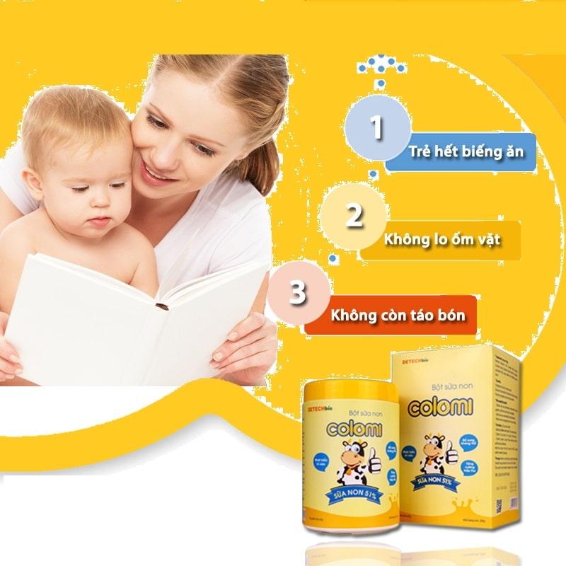 Mẹ bỉm sữa nói gì khi sử dụng sữa non cho bé?