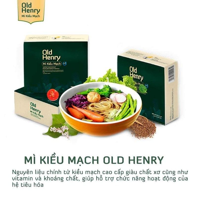 Mì Kiều Mạch Old Henry ra đời là giải pháp hoàn mỹ cho người đang mắc bệnh tiểu đường