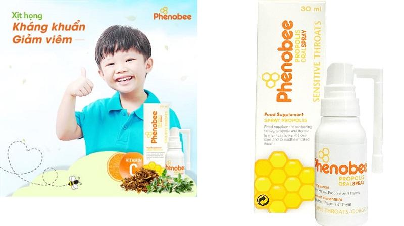 Những ai nên sử dụng dòng sản phẩm chăm sóc sức khỏe keo xịt họng Phenobee?