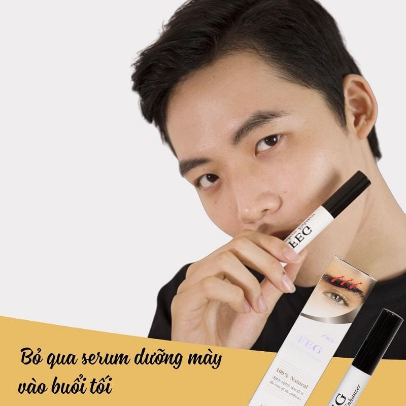 Những công dụng nổi bật của serum dưỡng mày FEG Eyebrow với người dùng