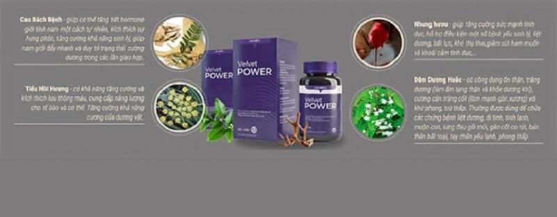 Những ưu điểm nổi bật của Velvet Power 1H