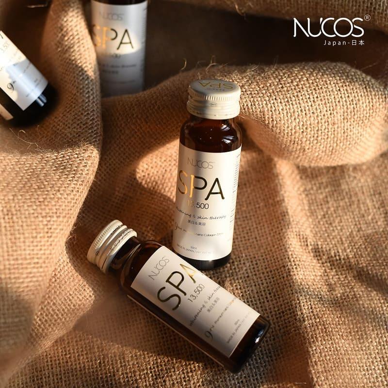 Nước uống bổ sung Collagen Nucos Spa sở hữu trong mình nhiều ưu điểm