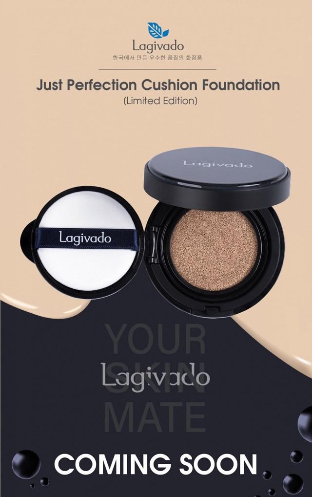 Phấn nước Lagivado là sản phẩm của thương hiệu mỹ phẩm Lagivado Hàn Quốc
