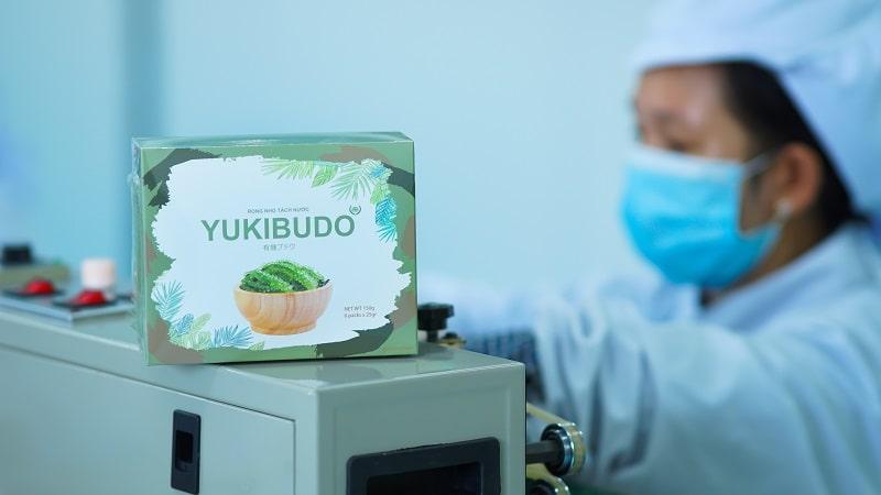 Quy cách đóng gói của rong nho Yukibudo