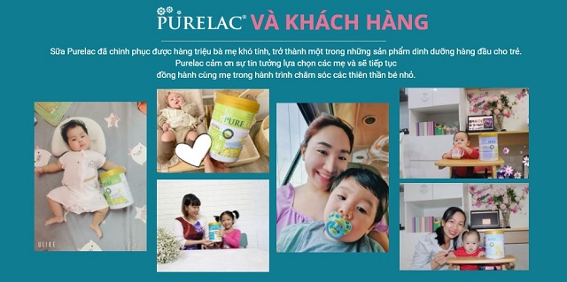 Rất nhiều khách hàng tin tưởng lựa chọn Purelac
