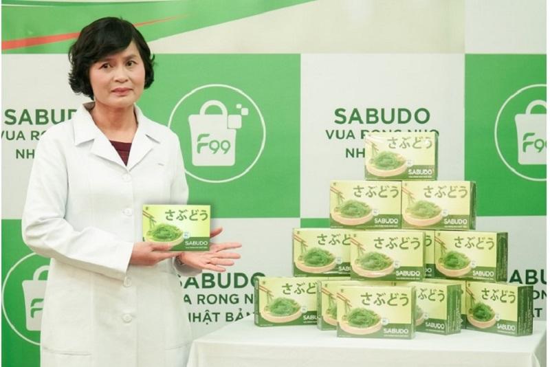 Rong nho Sabudo được TS-BS. Lê Thị Hải- Viện dinh dưỡng quốc gia đánh giá rất cao