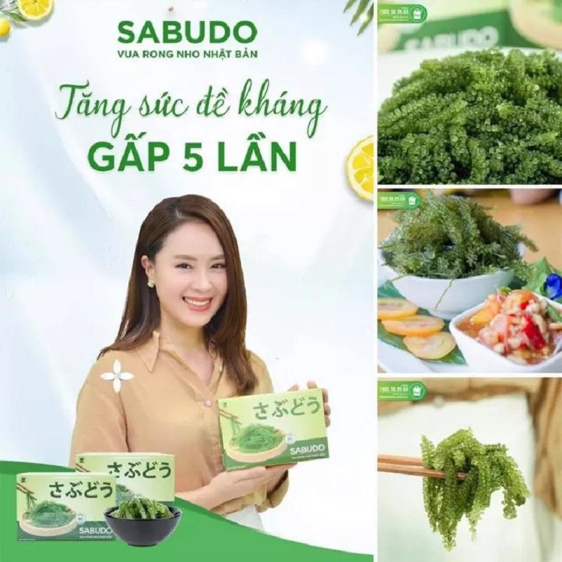 Rong nho Sabudo được nữ diễn viên Hồng Diễm chế biến thành nhiều món ăn cho gia đình