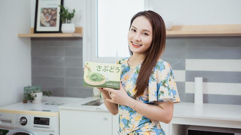 Rong nho biển Sabudo được nữ diễn viên Bảo Thanh sử dụng để duy trì vóc dáng cân đối khỏe mạnh
