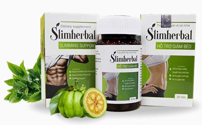 SLIM HERBAL – Viên giảm cân an toàn đóng hộp dễ bảo quản