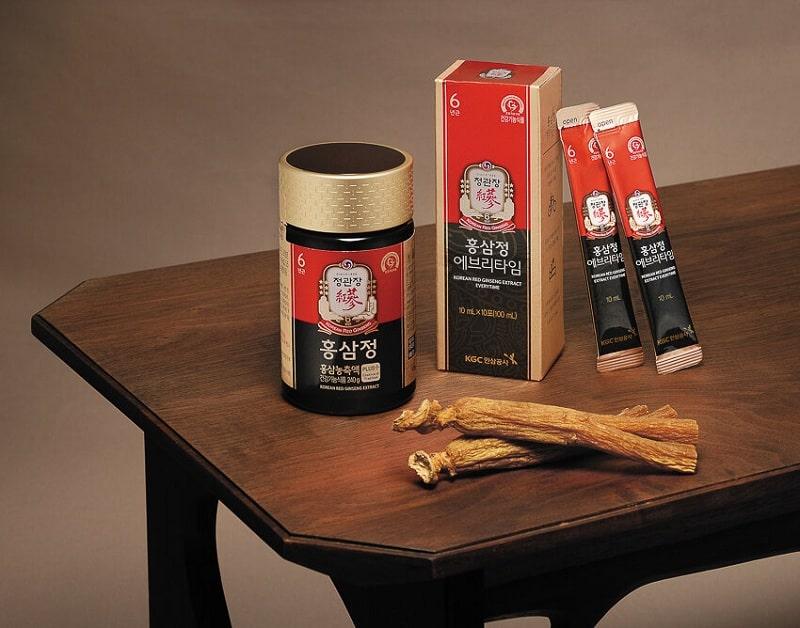 Sản phẩm Hồng Sâm KGC Cheong Kwan Jang đa dạng chủng loại