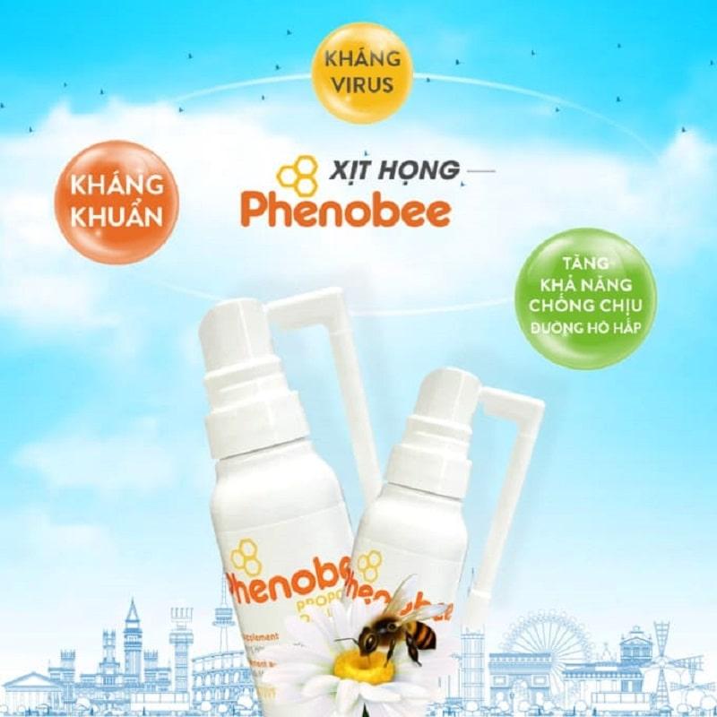 Sản phẩm keo ong xịt họng Phenobee mua ở đâu chính hãng?