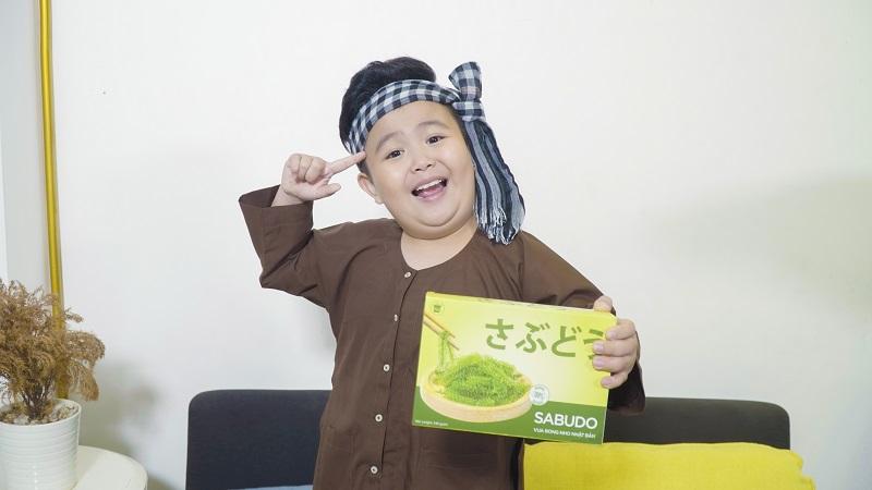 Sản phẩm rong nho Sabudo rất tốt cho sự tăng trưởng và phát triển của trẻ em