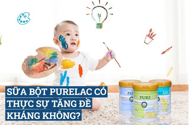Sữa bột Purelac có tốt không?