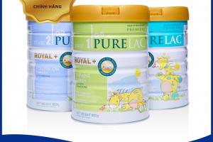 Sữa bột Purelac là sản phẩm sữa nhập khẩu từ New Zealand