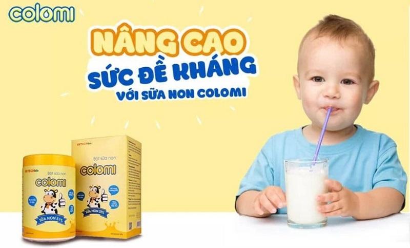 Sữa non Colomi có những thành phần nổi bật nào?