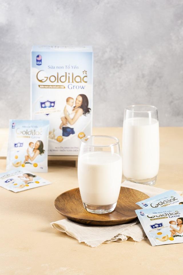 Sữa non tổ yến Goldilac Grow