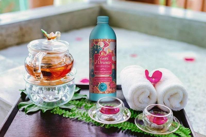 Sữa tắm nước hoa Tesori D'oriente là thương hiệu nổi tiếng đến từ nước Ý