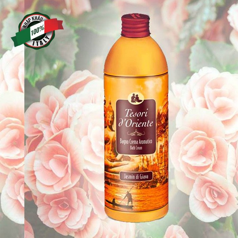 Sữa tắm tinh chất hoa nhài với mùi hương nhẹ nhàng nữ tính