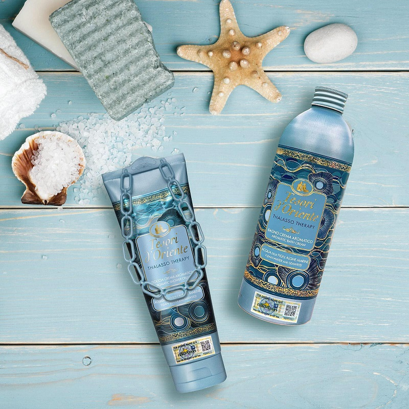 Sữa tắm tinh chất tảo biển mang đến mùi hương tươi mát từ đại dương xa xôi