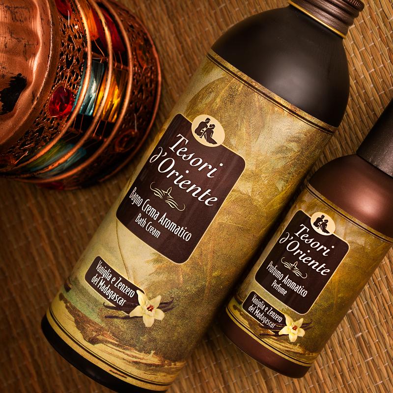 Sữa tắm tinh dầu macca - Vanilla and Ginger rất thích hợp với những nàng có làn da khô