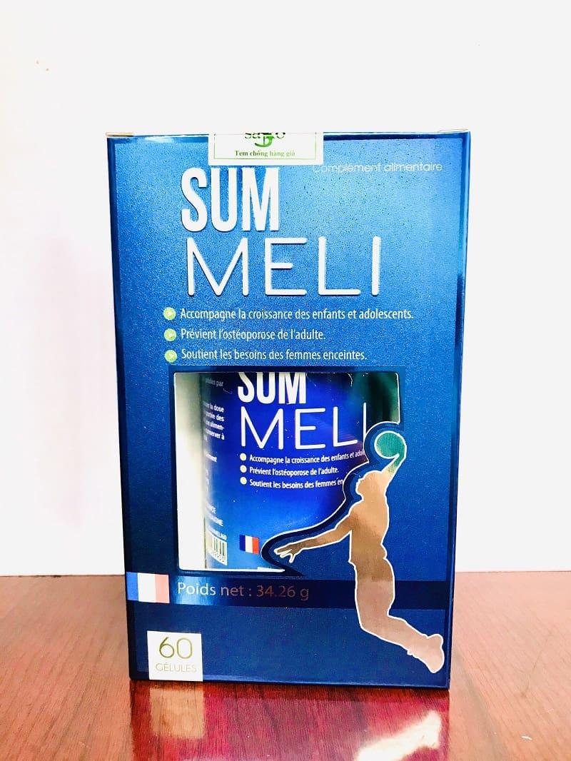 Summeli là sản phẩm được sản xuất tại Pháp và nhập khẩu tại Việt Nam