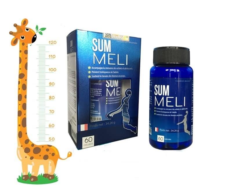 Summeli – tăng chiều cao phù hợp với các bạn nhỏ trong giai đoạn 5 tuổi đến 20 tuổi