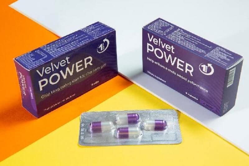 Tác dụng của Velvet Power 1H được thể hiện như thế nào sau khi sử dụng?