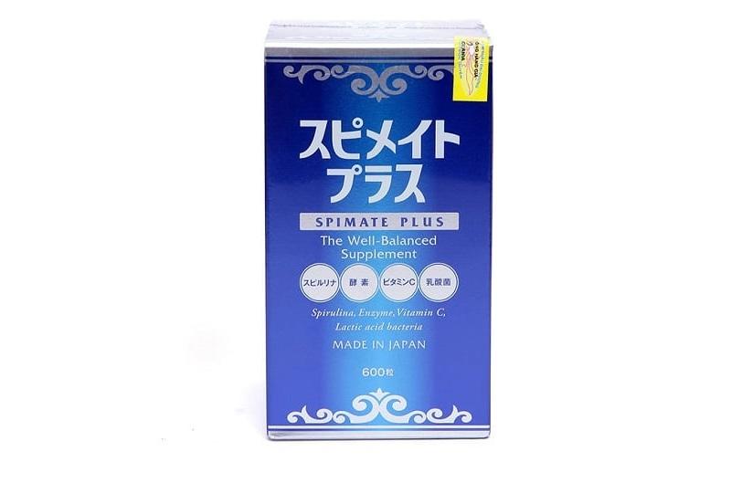 Tảo Spirulina Spimate là sản phẩm được sản xuất bởi Công ty Japan Algae từ Nhật Bản