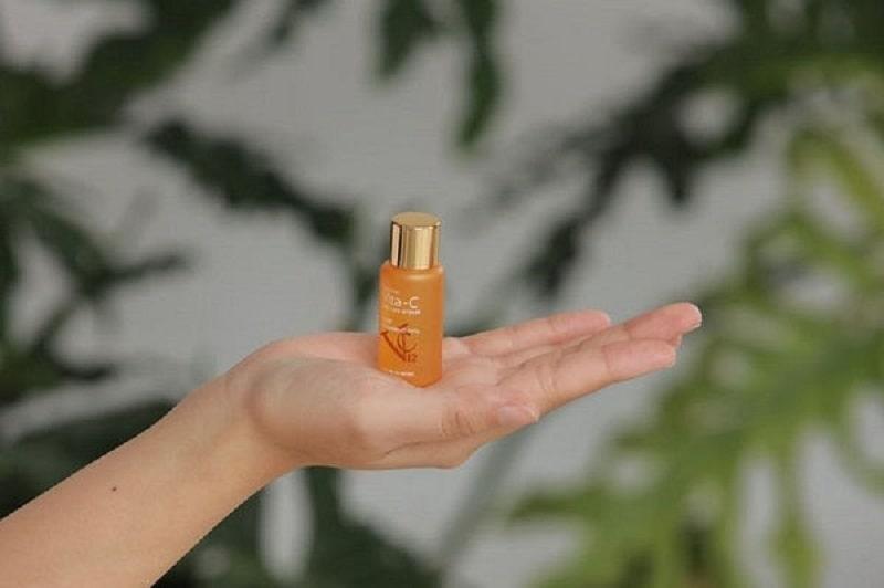 Thành phần C tươi là quan trọng nhất trong serum giúp làn da của bạn tươi trẻ và khỏe đẹp hơn