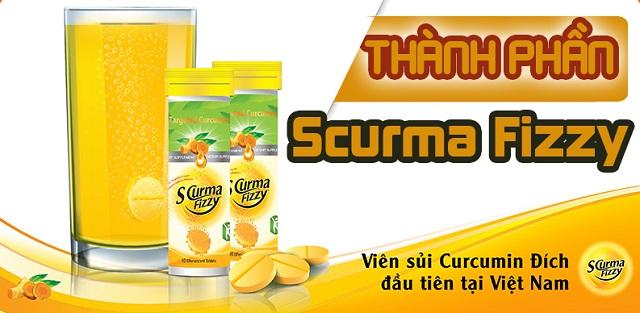 Viên sủi Scurma Fizzy ứng dụng công nghệ hướng đích