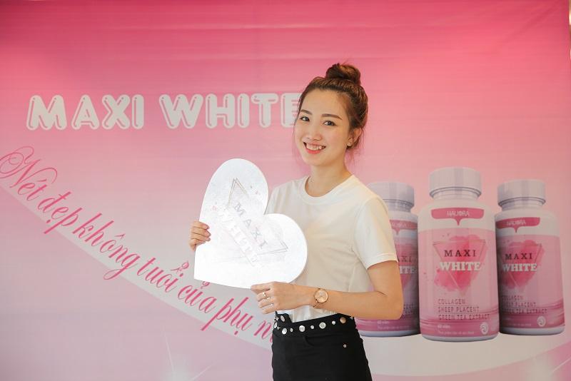 Viên uống Maxi White đã nhận được những phản hồi rất tích cực của khách hàng