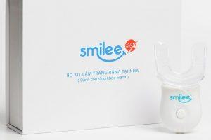 Bộ Kit Tẩy Trắng Răng Smilee