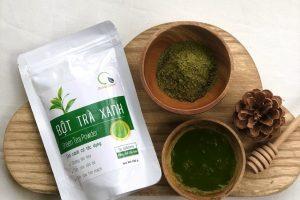 Bột trà xanh Quảng Thanh