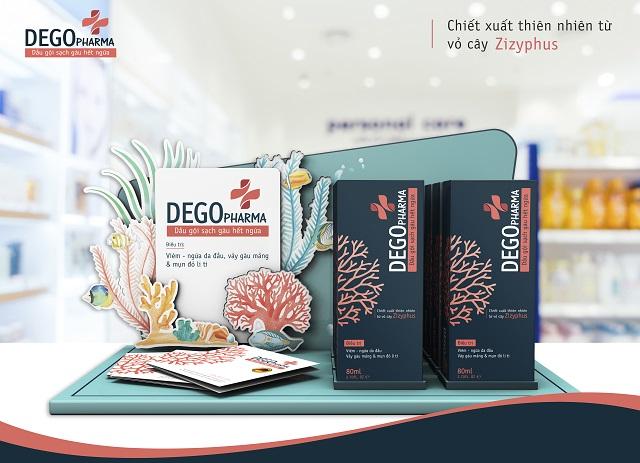 Dầu gội Dego Pharma là lựa chọn hoàn hảo cho bệnh nhân bị nấm da đầu