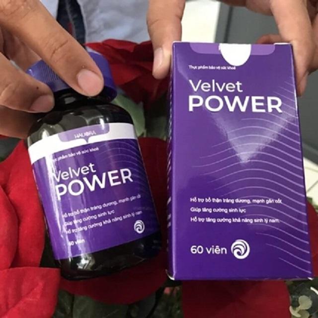 Duy trì viên uống Velvet Power hằng ngày để phát đạt được hiệu quả tối đa nhất