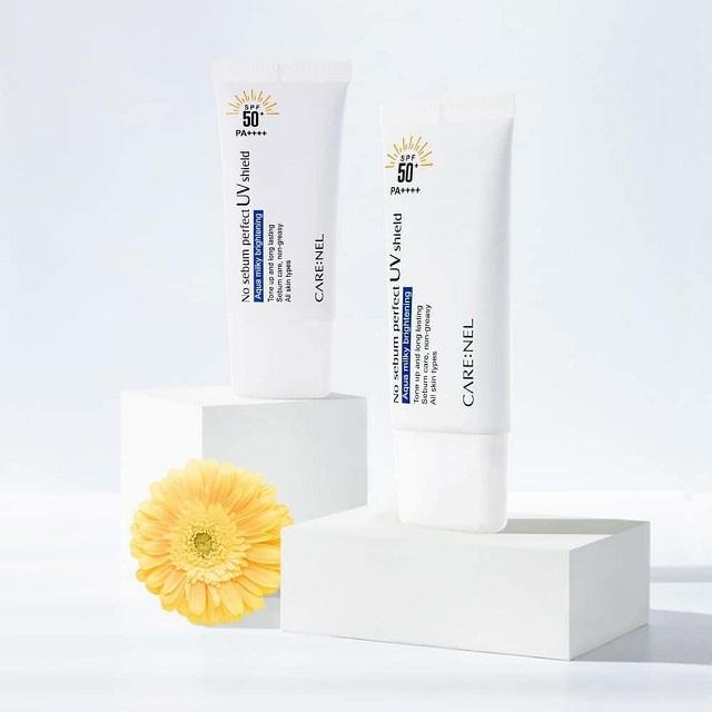 Kem chống nắng Care:nel No Sebum Perfect UV Shield